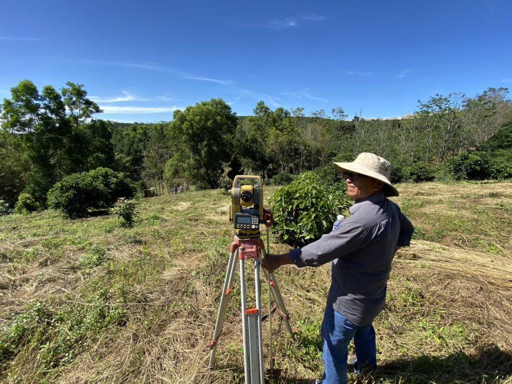 Khảo sát địa hình Minh Phương Farm Lâm Đồng
