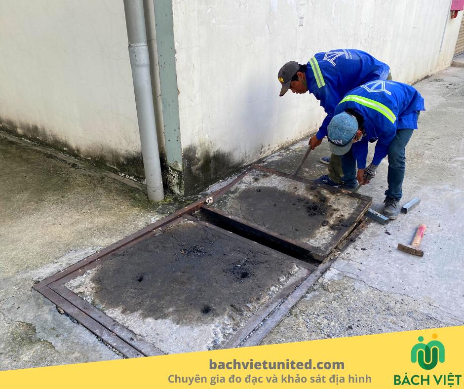 Khảo sát công trình ngầm thoát nước nhà máy Tân Phú Minh Long An