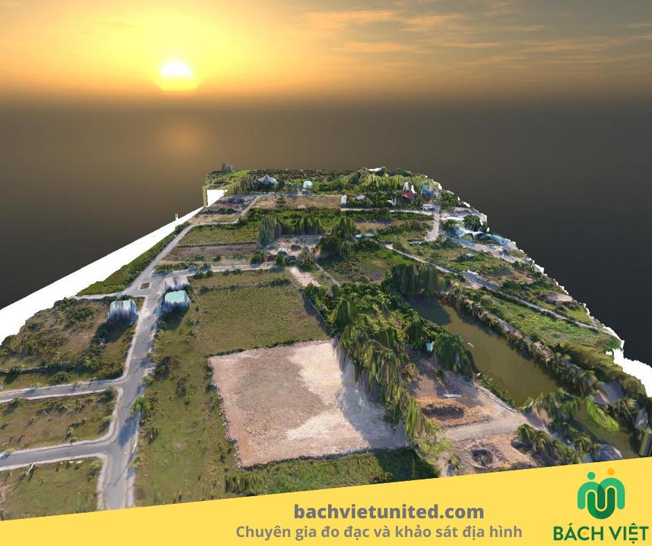 Hợp Nhất Bách Việt nghiên cứu 3D mapping bằng DRONE