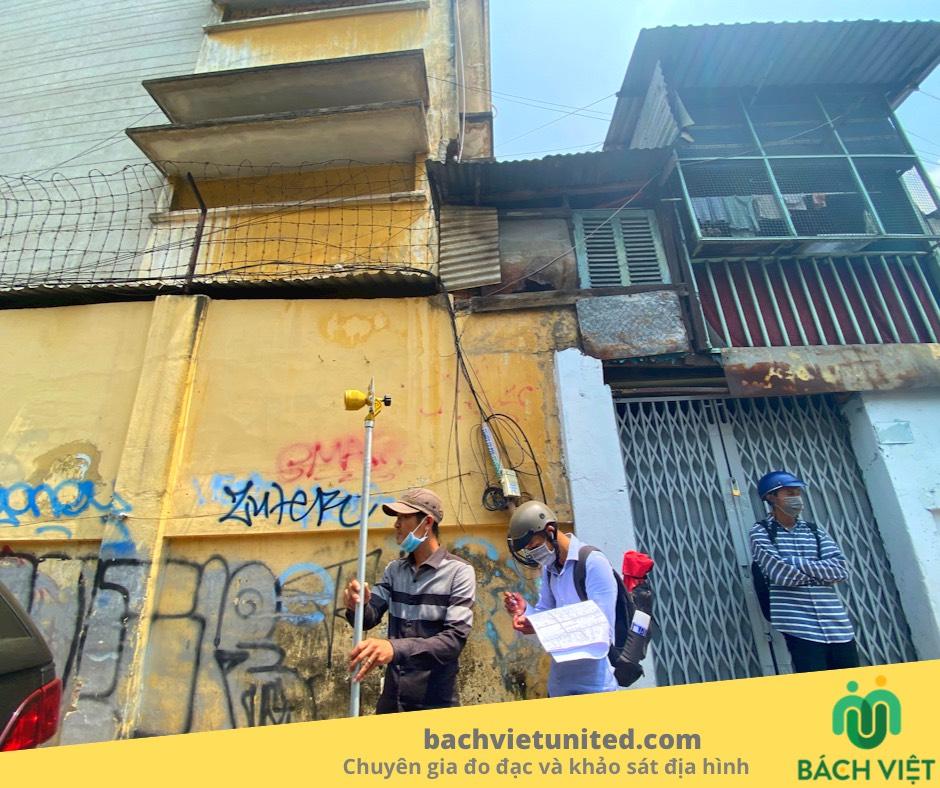 Đo đạc khảo sát công trình ngầm dự án Điện lực Sài Gòn